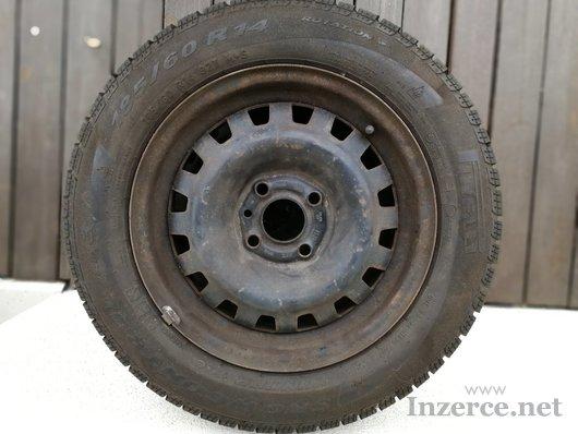 Sada kol pneu+disky