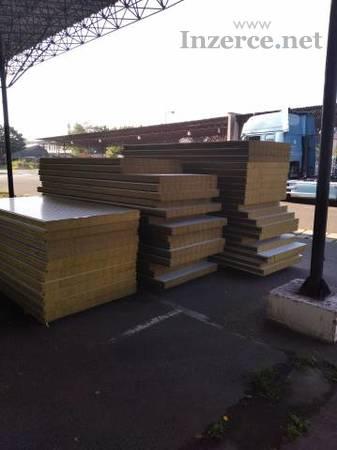 Sendvičové izolační zateplovací panely stěnové