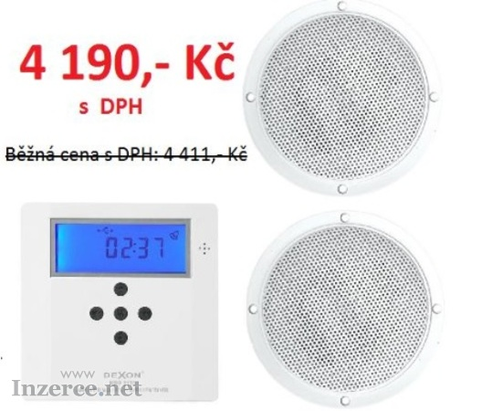 Set pro ozvučení bytu MRP 2170 + 2x Reproduktor