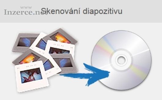 Skenování diapozitivů na CD