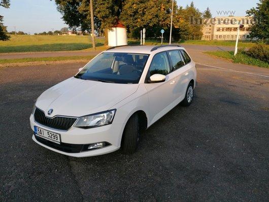 Škoda Fabia kombi 1,4 TDI r.v. 2016