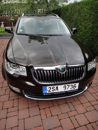 Škoda Superb 2,0TDI, 125kW
