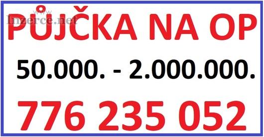 Soukromá půjčka na OP - 776 235 052