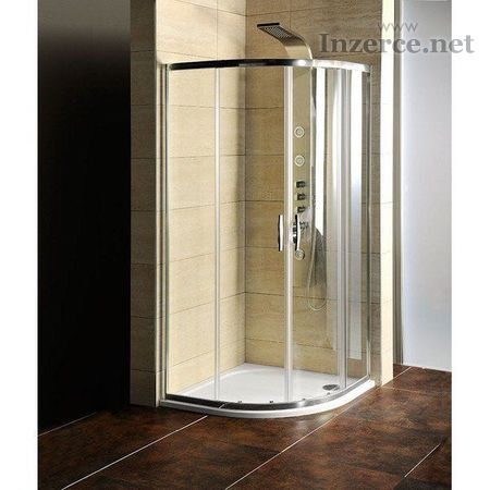 Sprchový kouts mramorovou vaničkou