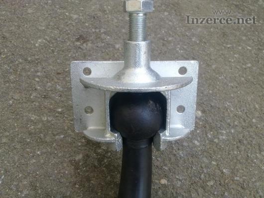 Šroubový upínák na TZ pro výrobu nosiče