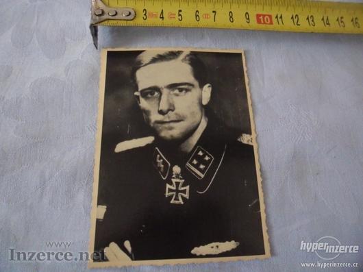 SS - Důstojník z fronty - foto