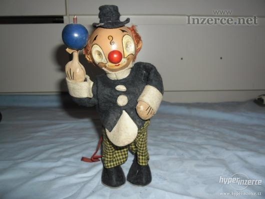 Starý klaun na klíček-FUNKČNÍ
