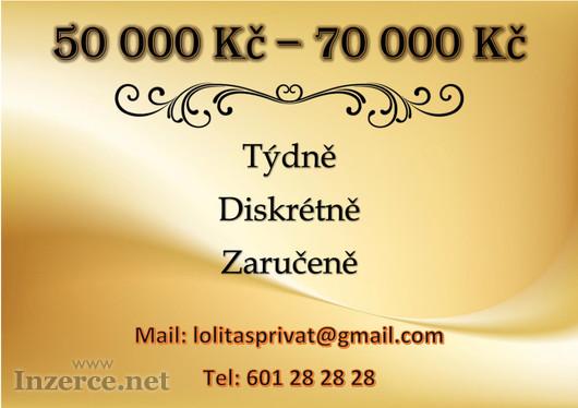 SUPER PRÁCE! 70 000 KČ TÝDNĚ,DISKRÉTNĚ A ZARUČENĚ!