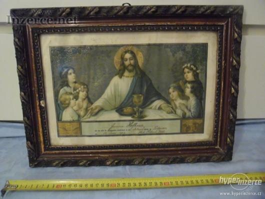 Svatý obraz s Ježíšem a modlíc.dětmi 12.JUNI 1927