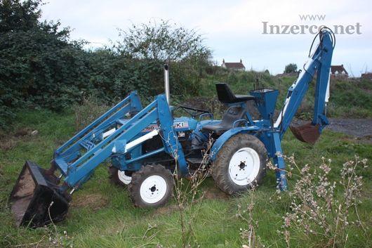 Traktor Iseki 2116O 4X4 + čelní nakladač
