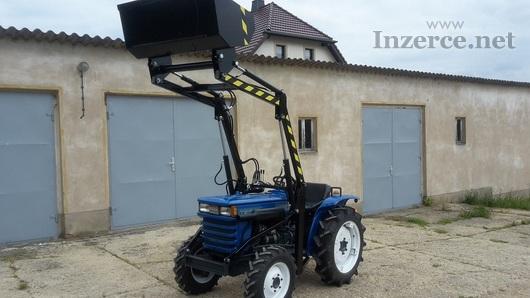 Traktor Iseki I16I0 TS + kompletní čelní nakladač