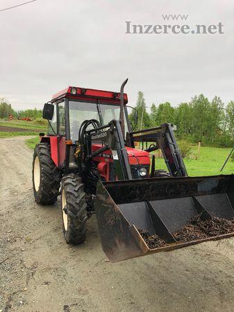 Traktor Zetor 7245 + kompletní čelní nakladač