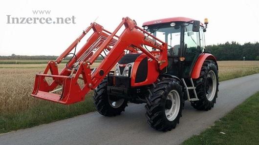Traktor ZETOR PROXIMA 8c5c s čelním nakladačem