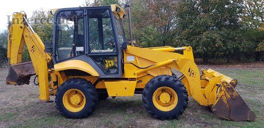 Traktorbagr plně funkční - JCB 2CX SM