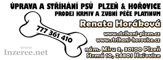 Úprava a stříhání psů Plzeň & Hořovice