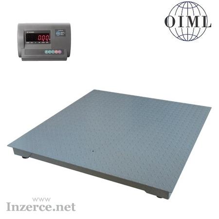 Váha průmyslová 1x1m s indikátorem