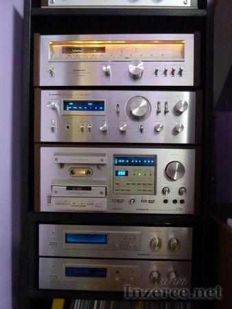 Vintage sestava PIONEER,blue line řada 7800+951