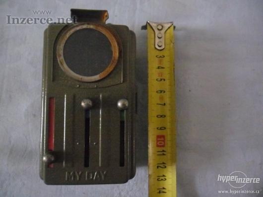 Vojenská baterka - zn. MY DAY