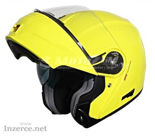Vyklápěcí přilba na motorku RSA TR-01 žlutá