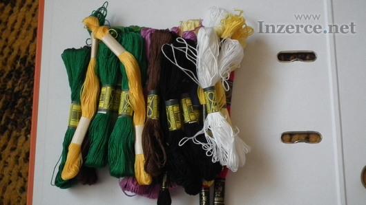 Vyšívací bavlnky ( přadénka )