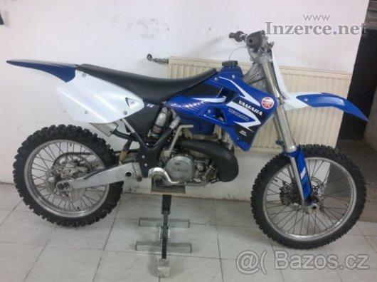 Yamaha YZ 250 01 pěkný stav