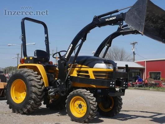 Yanmar EX32c00cE Traktor s nakladačem,