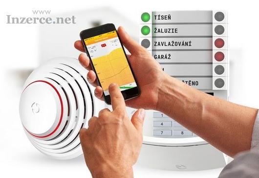 Zabezpečení domů a bytů Chomutov - montáž alarmu