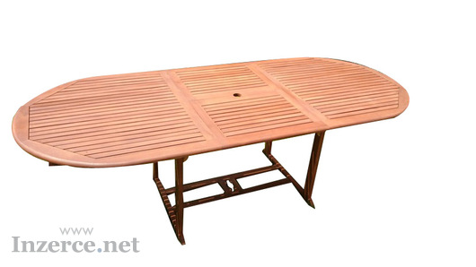 Zahradní stůl z eukalyptu MARIO