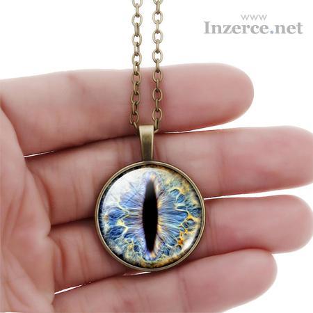 Zajímavý bižu set - náhrdelník, náramek náušnice