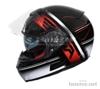 Přilba na motorku RSA SR-01 černo-červeno-bílá - foto 2