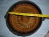 Starodávná keramická bábovka zpevněná dráty - foto 2