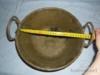 Pěkný mosazný kotlík s řetězem-jen pověsit a vařit - foto 3