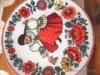 Polička k keramickými ručně malovanými talíři - foto 3