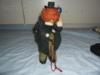 Starý klaun na klíček-FUNKČNÍ - foto 3